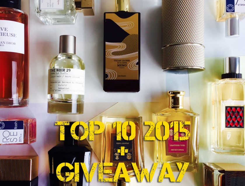 Top 10 Fragrances Perfumes Acquired in 2015