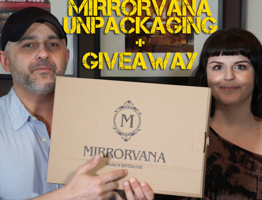 Mirrorvana Unpackaging + Giveaway