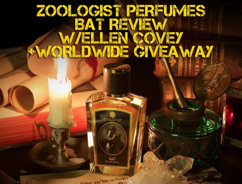 Zoologist Perfumes - Bat Review With Ellen Covey