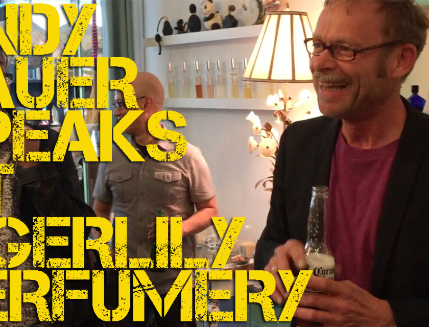 Andy Tauer Speaks At Tigerlily Perfumery
