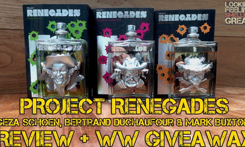Project Renegades (Geza Schoen, Bertrand Duchaufour & Mark Buxton) Review + WW Giveaway