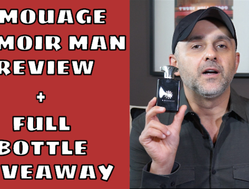 Amouage Memoir Man Fragrance Review + Full Bottle Giveaway