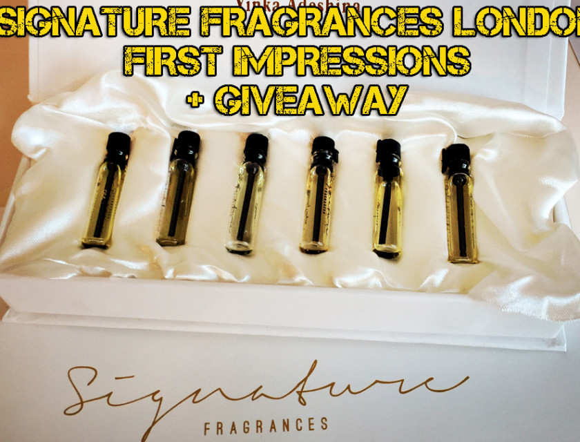 Signature Fragrances London First Impressions Review