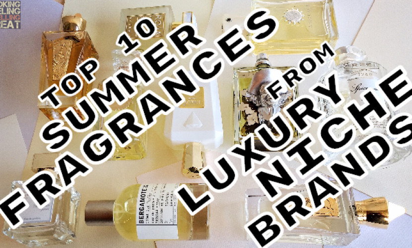 Top 10 Summer Fragrances By Luxury Niche Brands