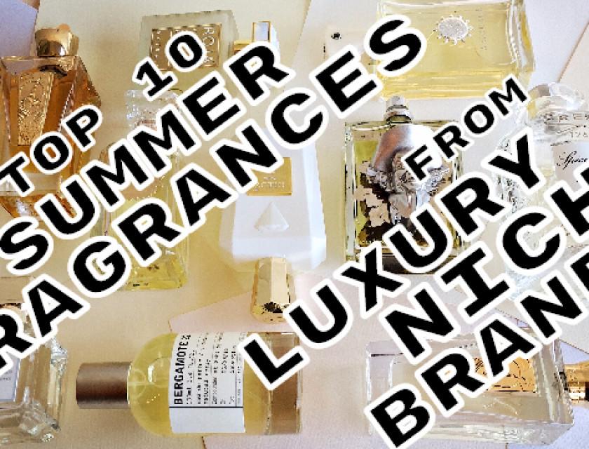 Top 10 Summer Fragrances By Luxury Niche Brands