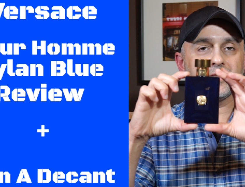 Vercace Pour Homme Dylan Blue Review