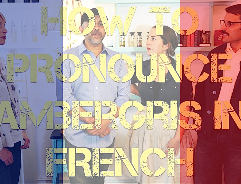 How To Pronounce Ambergris In French