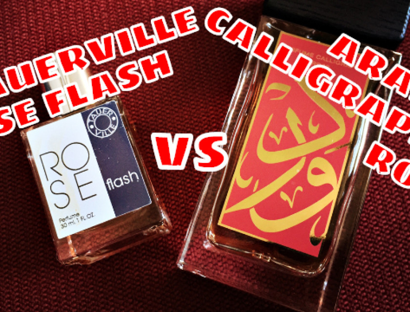 Tauerville Rose Flash vs Aramis Calligraphy Rose