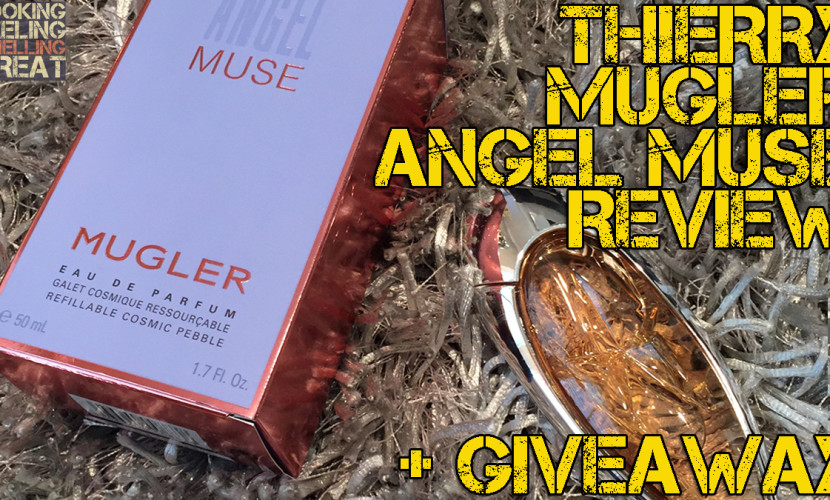 Thierry Mugler Angel Muse Review + Giveaway