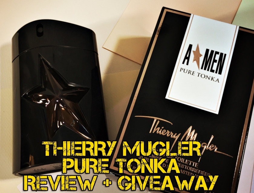 Thierry Mugler Pure Tonka Fragrance Review + Giveaway