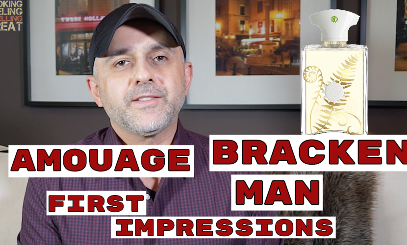 Amouage Bracken Man First Impressions