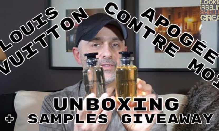 Louis Vuitton Contre Moi & Apogée Unboxing + Giveaway