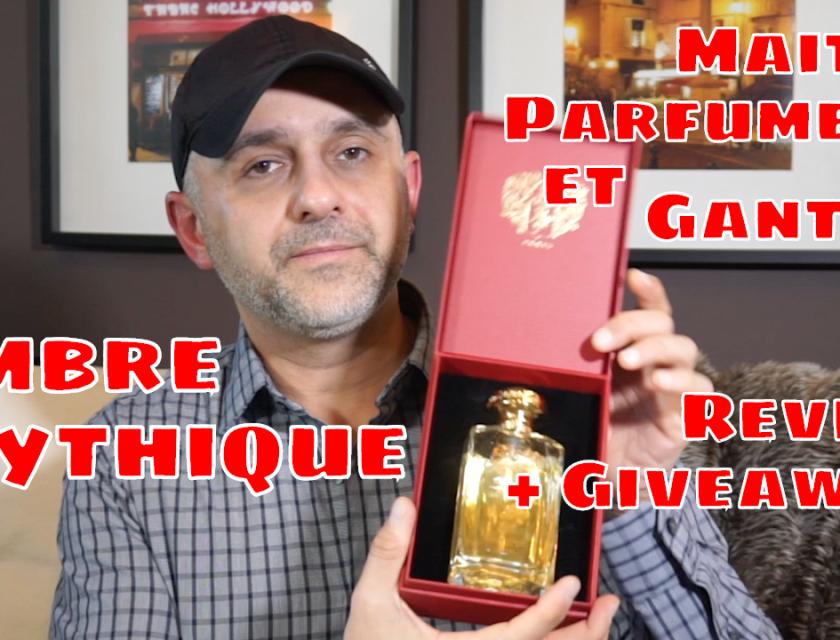 Maitre Parfumeur et Gantier Ambre Mythique Review
