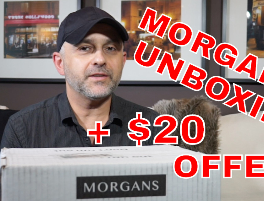 Morgans Unboxing + $20 Offer - Morgans Premium Quality Bathroom Basics