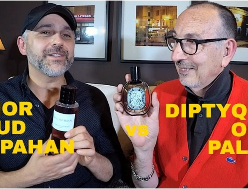 Dior Oud Ispahan vs Diptyque Oud Palao with Lanier Smith
