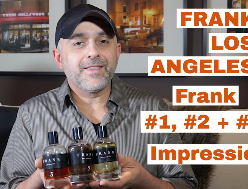 Frank Los Angeles Frank #1, Frank #2 + Frank #3 Impressions