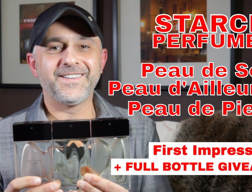 Starck Perfumes Peau de Soie, Peau d'Ailleurs and Peau de Pierre First Impressions Review