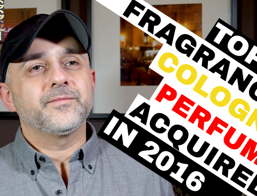 Top 10 Fragrances, Colognes, Perfumes Purchased in 2016