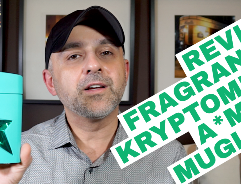 Mugler A*Men Kryptomint Review