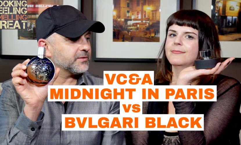 Van Cleef & Arpels Midnight In Paris vs Bvlgari Black