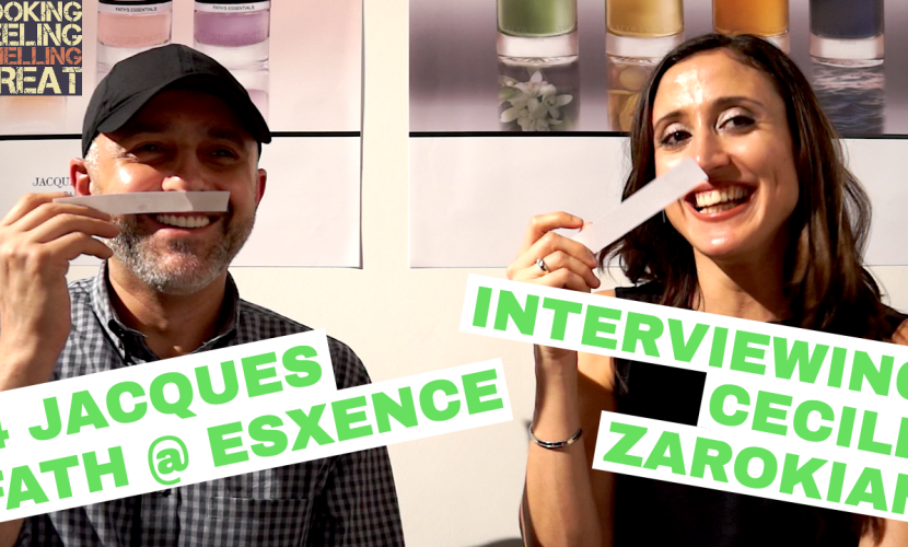 Cecile Zarokian Perfumer Interview For Jacques Fath Fragrances @ Esxence 2017