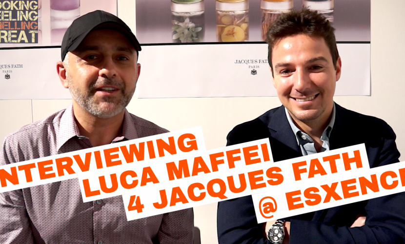 Luca Maffei Perfumer Interview For Jacques Fath Fragrances Launch @ Esxence