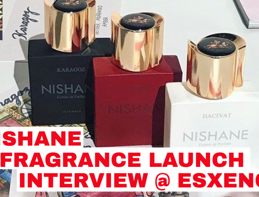 Nishane Karagoz, Hacivat, Zenne Launch Interview @ Esxence 2017