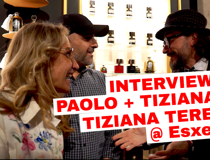 Interviewing Paolo + Tiziana of Tiziana Terenzi @ Esxence 2017