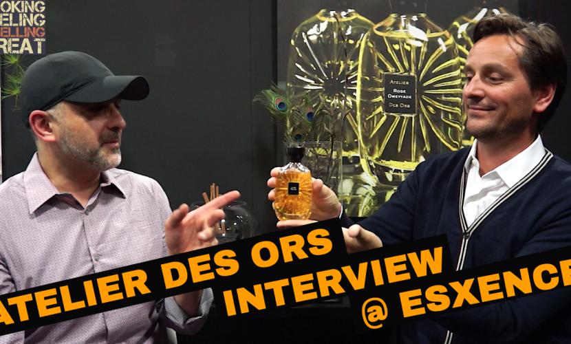 Atelier Des Ors Interview + Iris Fauve First Impressions @ Esxence 2017
