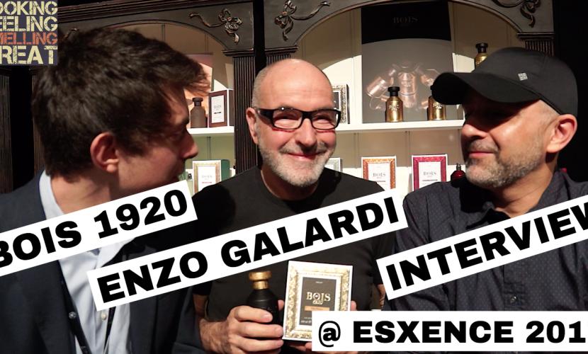 Bois 1920/Enzo Galardi Interview @ Esxence 2017