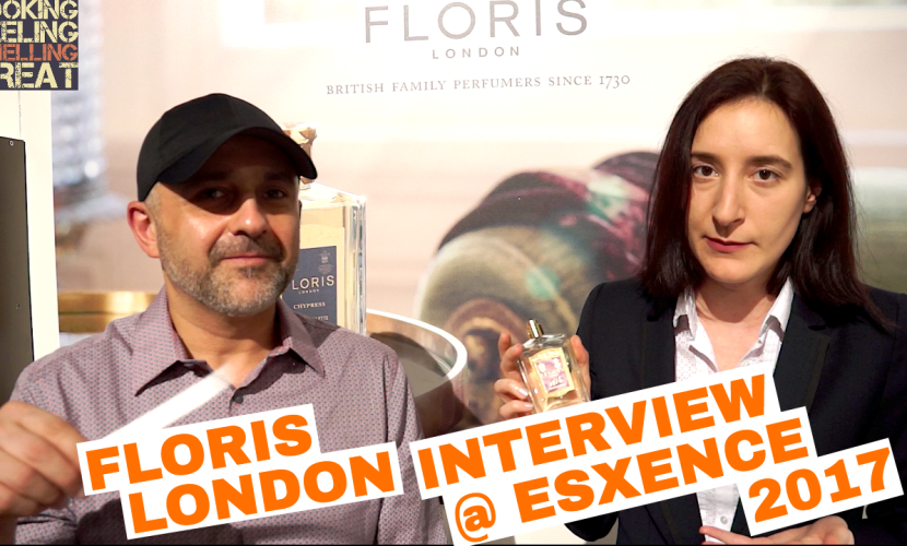 Floris London Interview @ Esxence + Giveaway