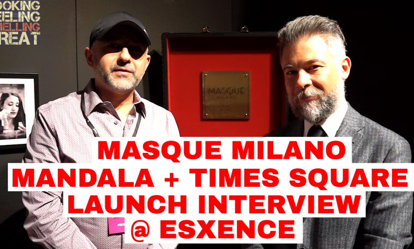 Masque Milano Mandala/Times Square Interview @ Esxcence 2017