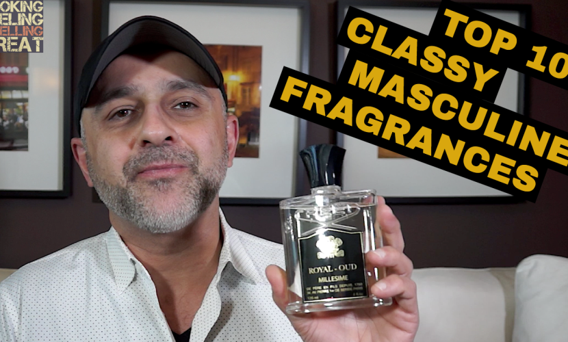 Top 10 Classy Masculine Fragrances For The Gentleman