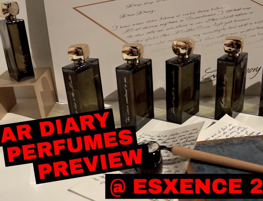 Dear Diary Perfumes Preview