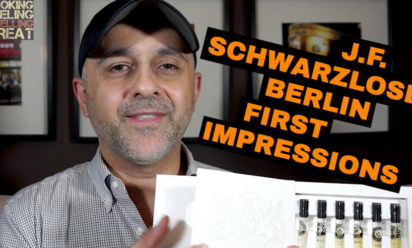 J.F. Schwarzlose Berlin Perfumes First Impressions