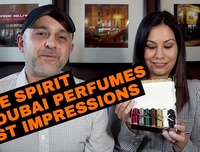 The Spirit Of Dubai Perfumes First Impressions w/Lola Scents