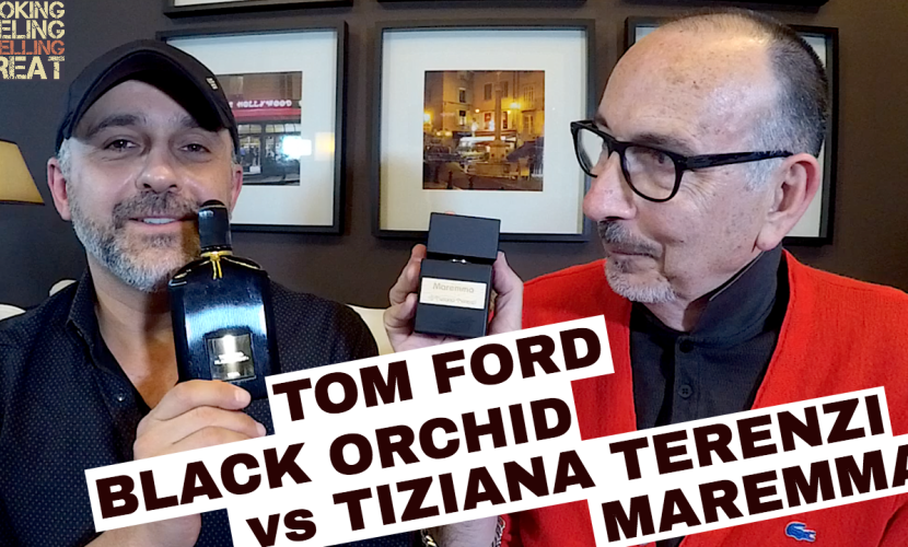 Tom Ford Black Orchid vs Tiziana Terenzi Maremma w/Lanier Smith
