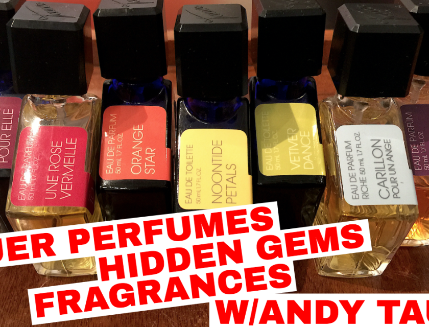 Tauer Perfumes Hidden Gems Fragrances With Andy Tauer