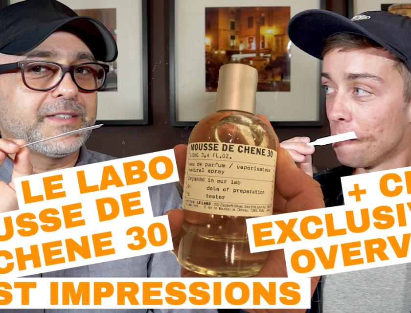 Le Labo Mousse De Chene 30 First Impressions