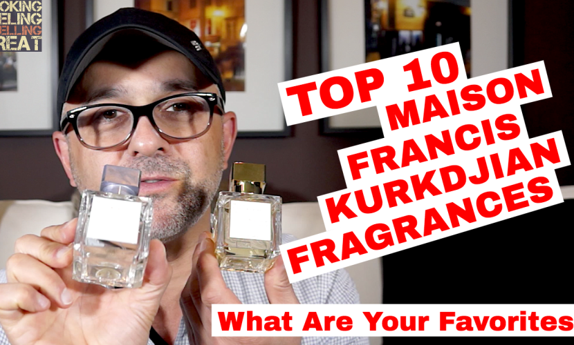 Top 10 Maison Francis Kurkdjian Fragrances