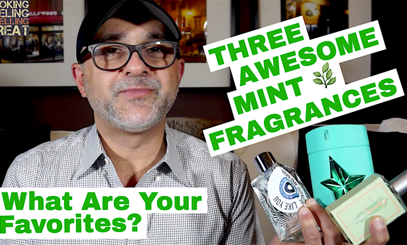 3 AWESOME Minty Fragrances