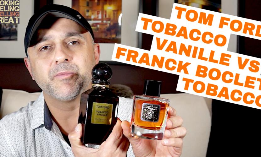 Tom Ford Tobacco Vanille vs Franck Boclet Tobacco