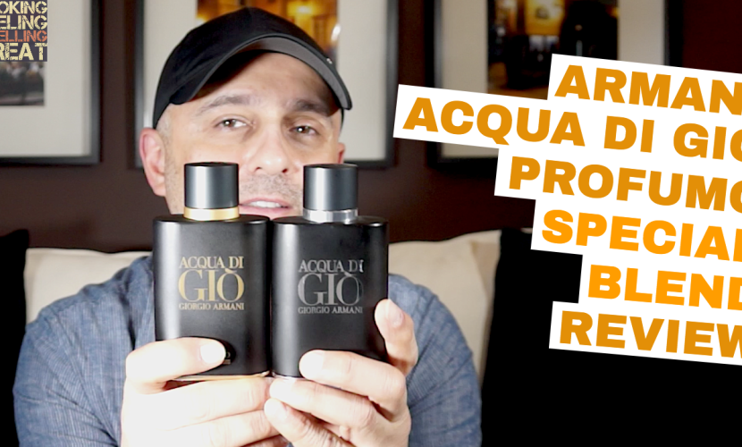 Armani Acqua Di Gio Profumo Special Blend Review