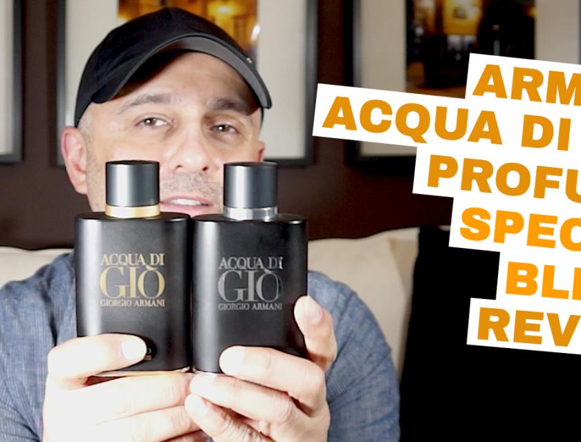 Armani Acqua Di Gio Profumo Special Blend Review