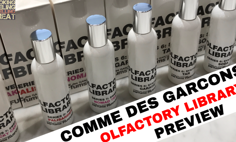 Comme Des Garcons Olfactory Library Review