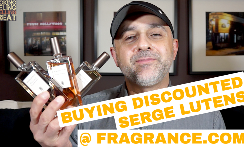 Buying Discounted Serge Lutens Fragrances