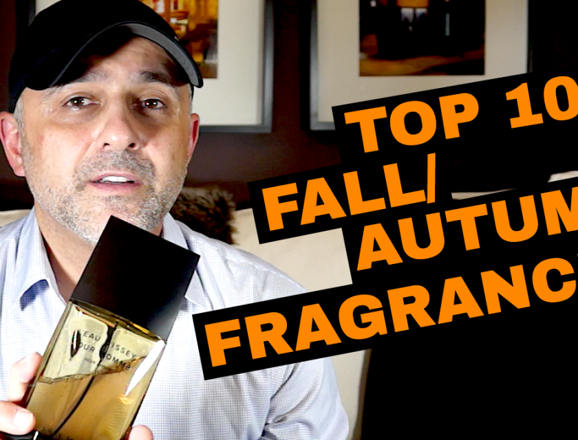 Top 10 Fall/Autumn Fragrances by Designers