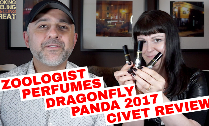 Zoologist Perfumes Dragonfly, Panda 2017 And Civet Review