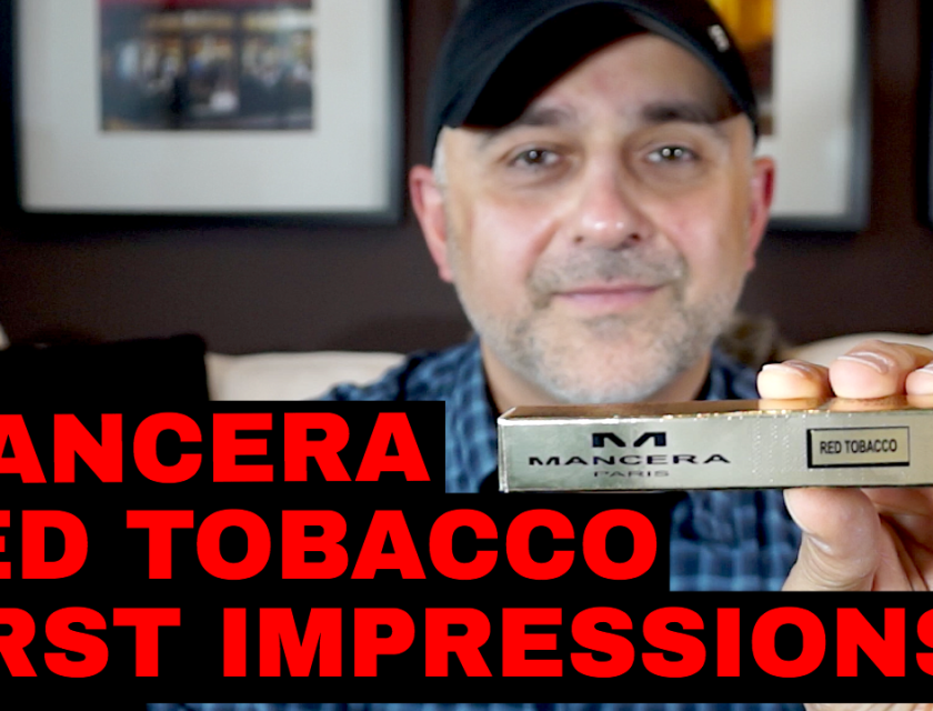 Mancera Red Tobacco First Impressions Review