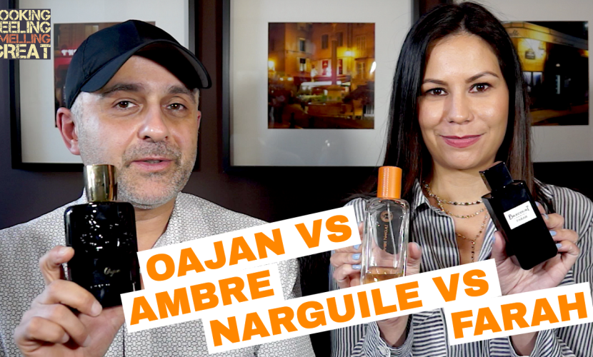 Parfums De Marly Oajan vs Hermes Ambre Narguile vs Brecourt Paris Farah